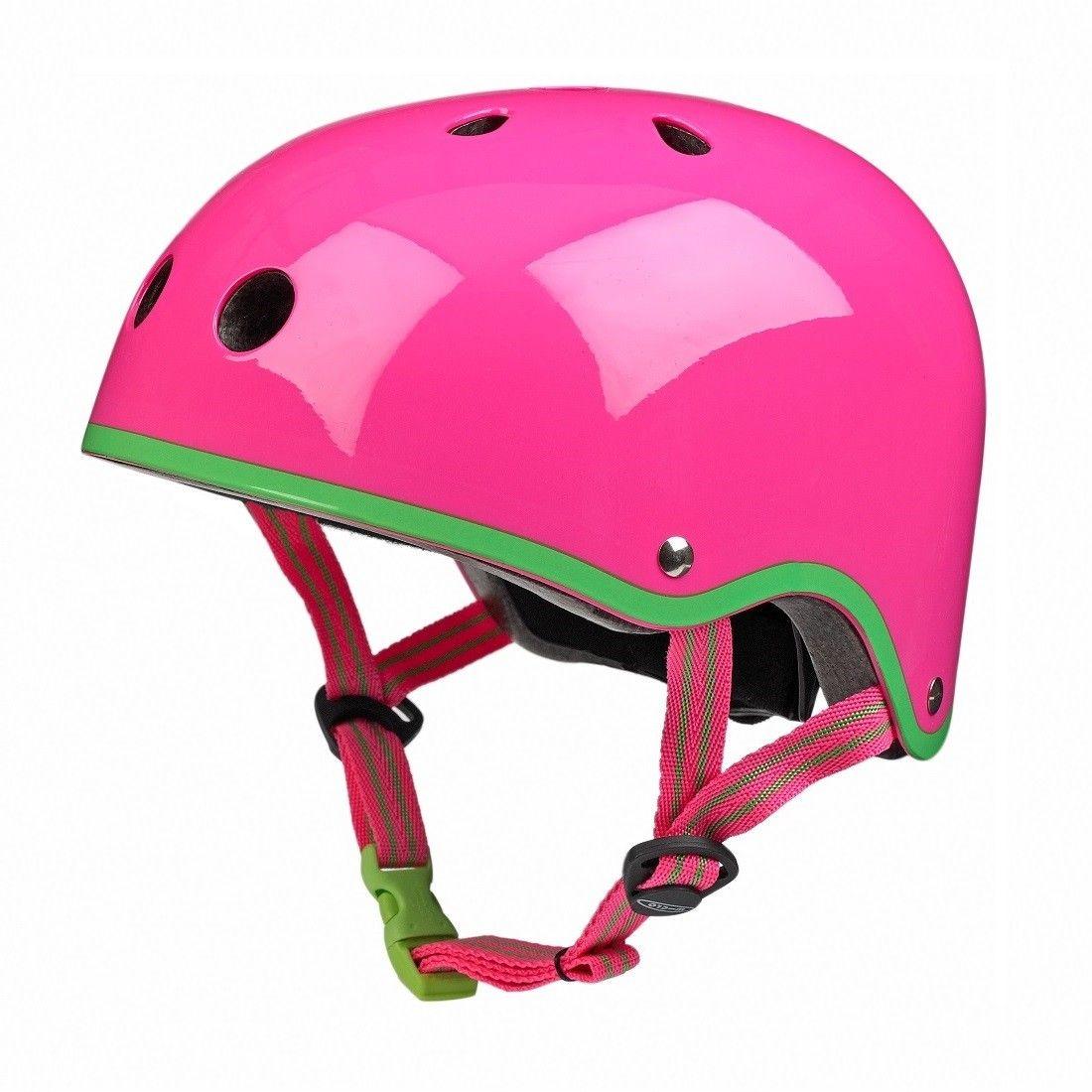 Cykelhjelm fra Micro - Neon Pink