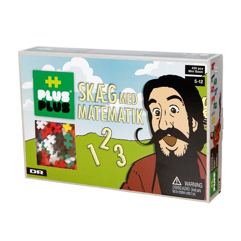 Hr. Skæg m. matematik og Plus Plus MINI Basic (430)