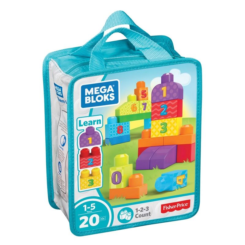 Image of   Mega Bloks fra Fisher-Price - First Builders - 123 Count