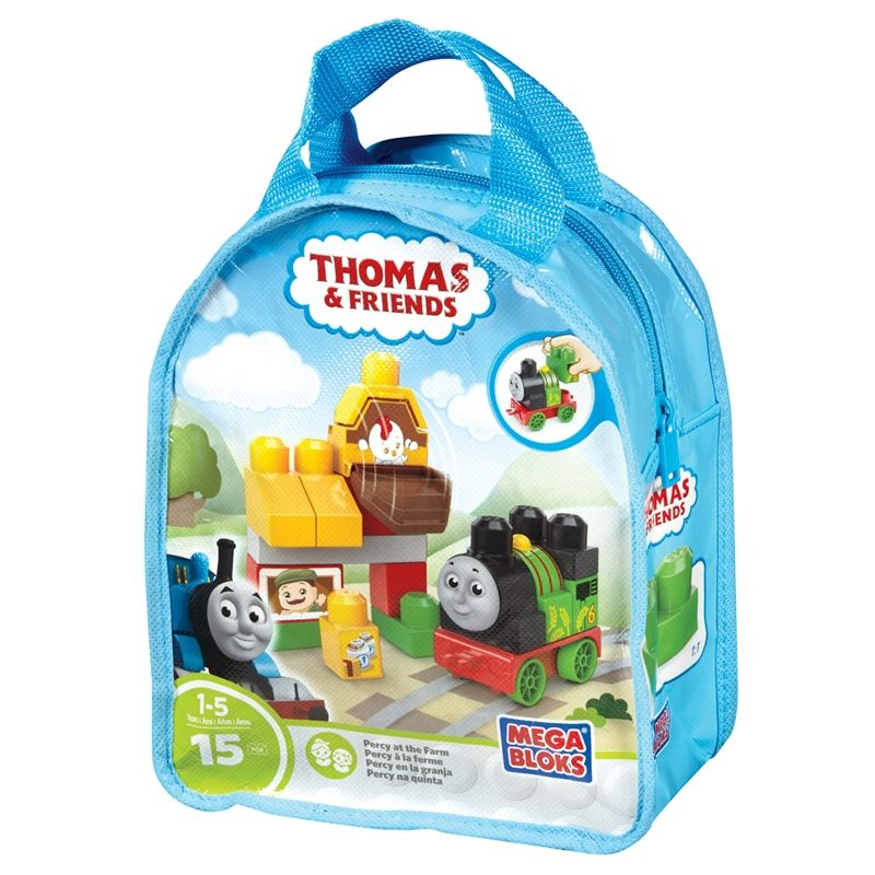 Image of Mega Bloks fra Fisher-Price - Thomas & Friends - Percy at the Farm (MGB-TOY16_percy)