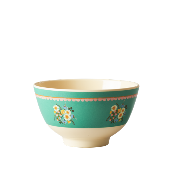 Image of Skål fra Rice - Melamin - Lille - Jade Flower (MELBW-SHWJA)