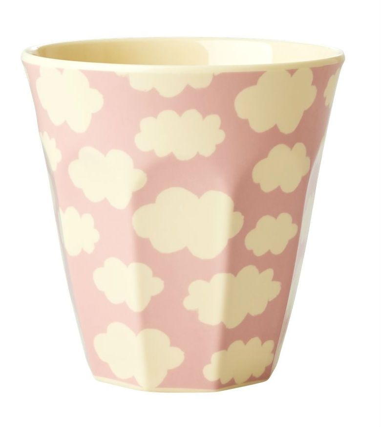 Image of Krus i melamin fra RICE - Medium - Cloud Pink (KICUP-CLOUDI)
