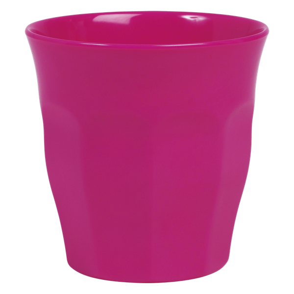 Image of Krus i melamin fra RICE - Medium - Fuchsia (MELCU-F)