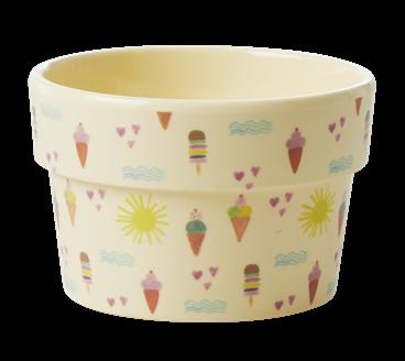 Image of Ice Cream Cup fra Rice - Creme (MELIC-SUMXC_HVID)