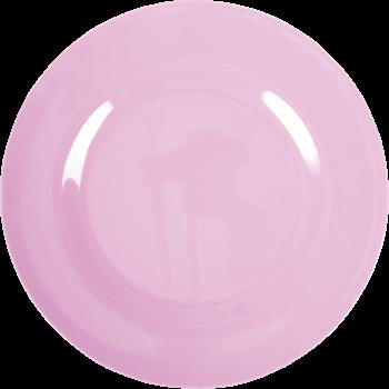 Tallerken fra RICE - Melamin - Stor - Bubblegum