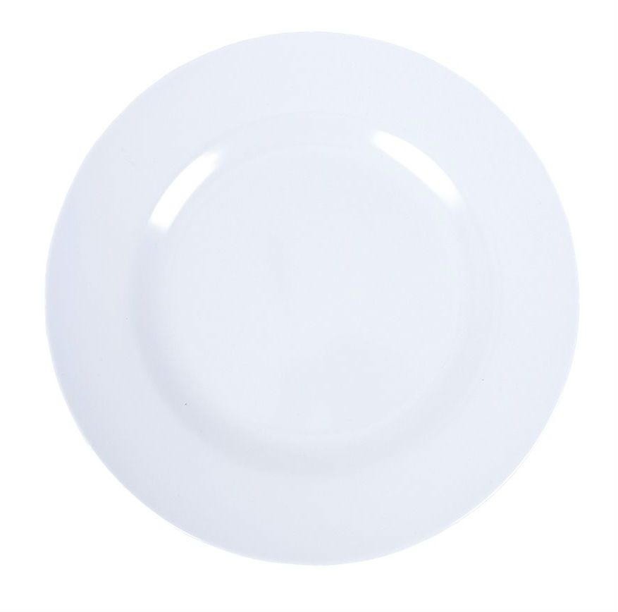 Tallerken fra Rice - Melamin - Mellem - Soft Blue