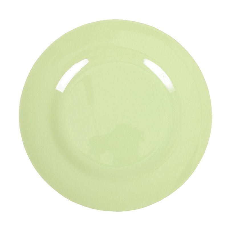 Image of Tallerken fra Rice - Melamin - Mellem - Lys lime (MESPL-MI)