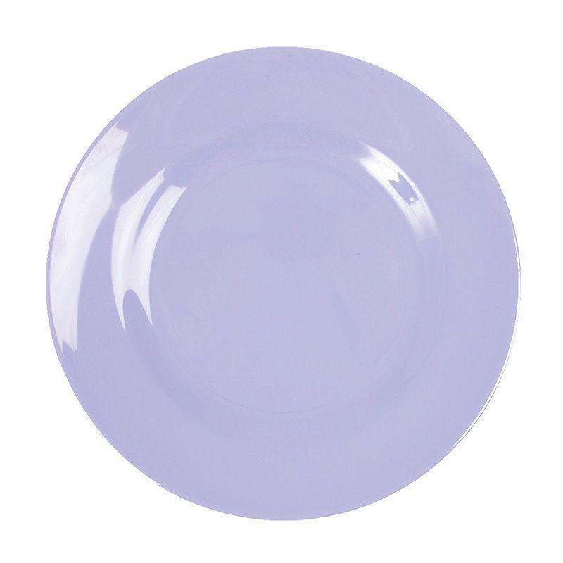 Tallerken fra Rice - Melamin - Mellem - Lavendel