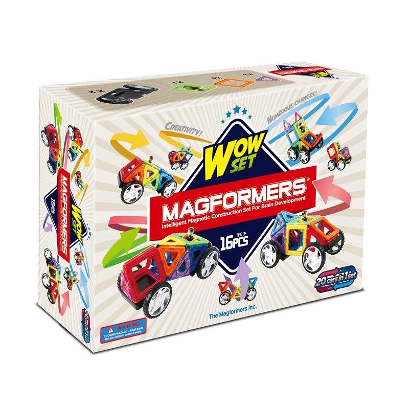 Magnetisk Byggesæt - Magformers Wow begyndersæt