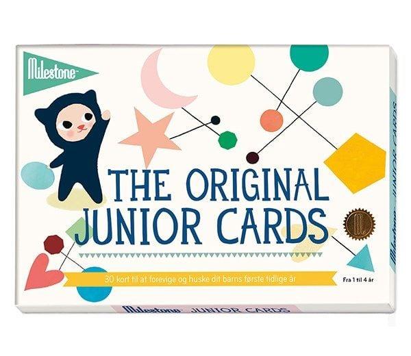 Image of Milestone Junior Cards - Den første gang... 1-4 år (30 stk) (MTC107)