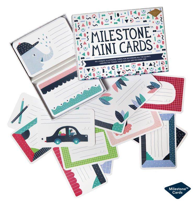 Image of Milestone Mini Cards - Gem barnets 100 bedste citater (8718564764031)