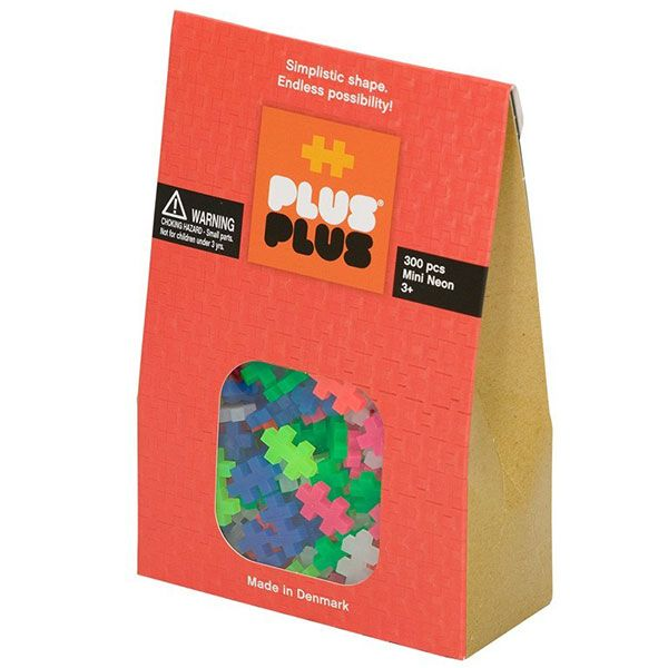 Image of Plus Plus brikker - MINI - Neon (300) (5710409100472)