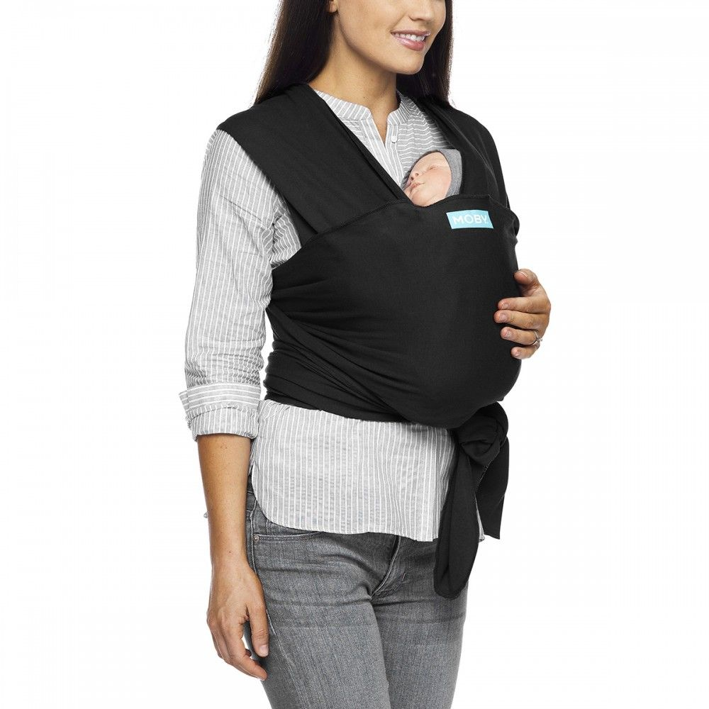 Image of Vikle fra Moby - Classic Wrap - Black (MCL-BLACK)