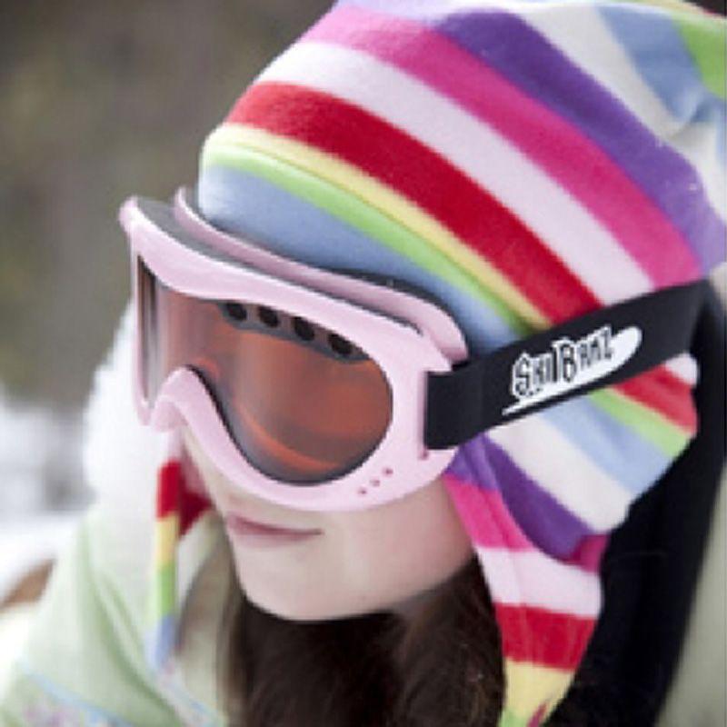 Skibriller fra baby banz - ski banz powder pink fra Baby banz på babygear.dk