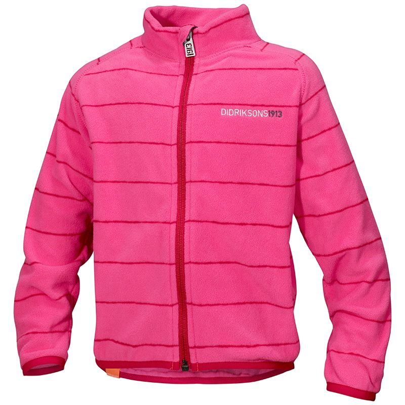 Image of   Micro Fleece trøje fra Didriksons - Monte - Flamingo