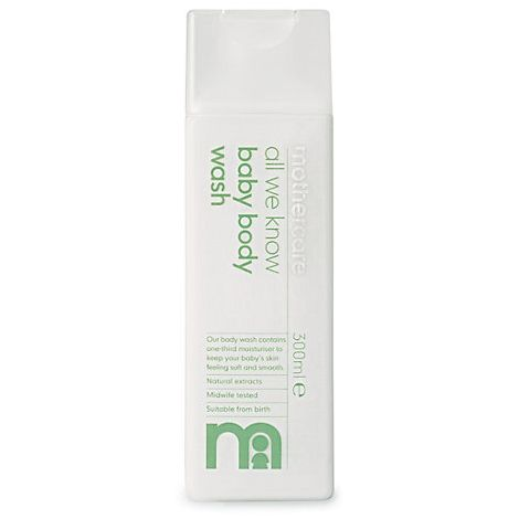 Image of Baby Body Wash fra Mothercare - Naturlig - Allergivenlig (300ml) (MTC-HYG12)