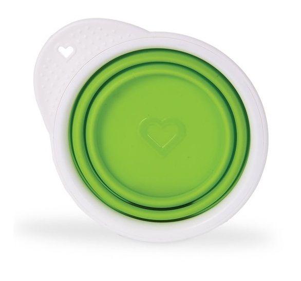 Billede af Skål fra Munchkin - Foldbar - Go Bowl - Lime