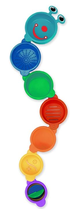 Badelegetøj fra Munchkin 3-i-1 - Caterpillar Spillers