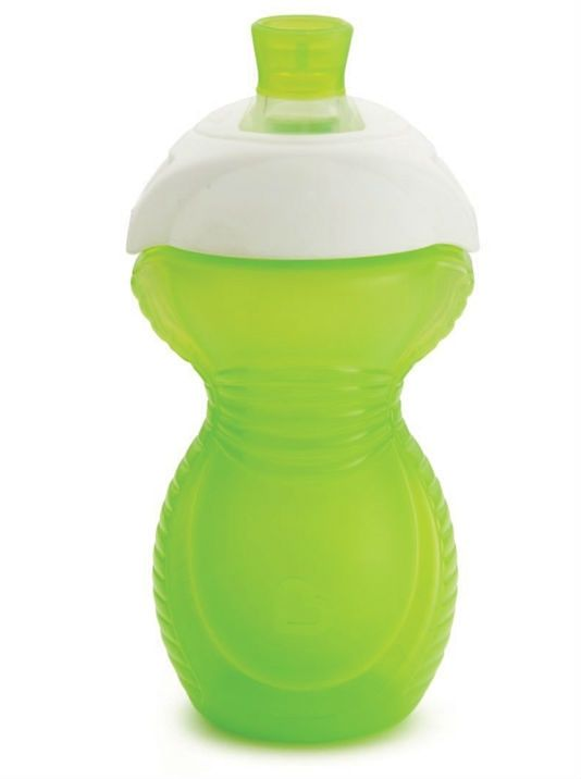 Image of Drikkeflaske fra Munchkin - Click Lock Chew Proof Sippy Cup (9m+) - Lime (MKN-FED12_lime)