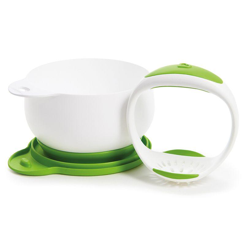 Munchkin – Håndmoser m. base og låg fra munchkin - go mash fra babygear.dk