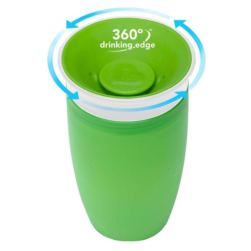 Image of   Drikketræner fra Munchkin - Spildfri Miracle 360 Sippy Cup - Grøn