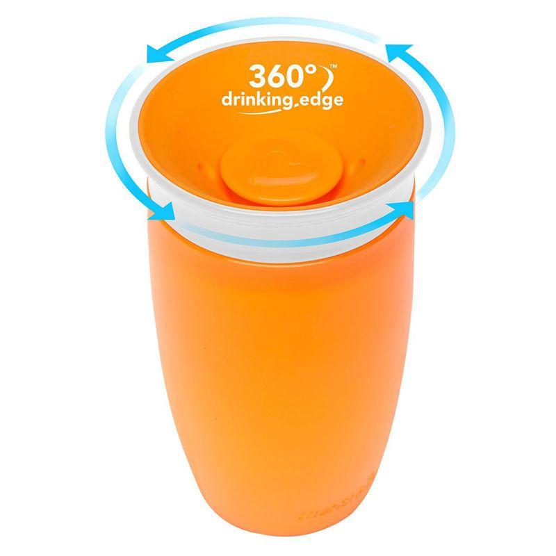 Image of   Drikketræner fra Munchkin - Spildfri Miracle 360 Sippy Cup - Orange