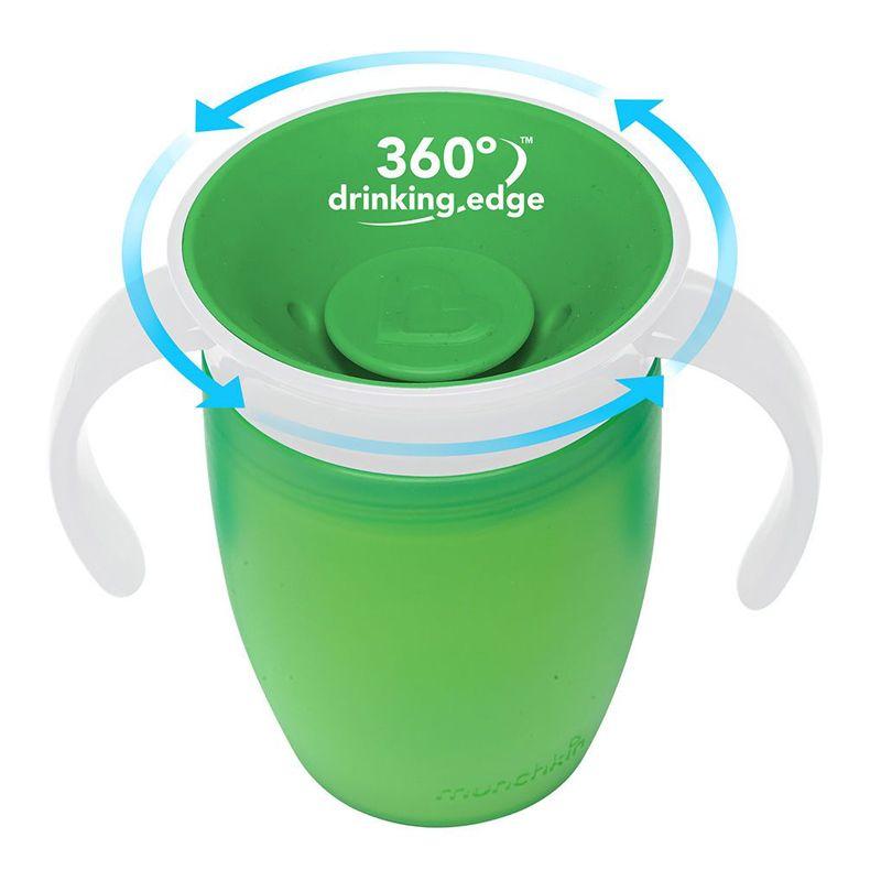Image of   Drikketræner fra Munchkin - Spildfri - Miracle 360Trainer Cup - Grøn
