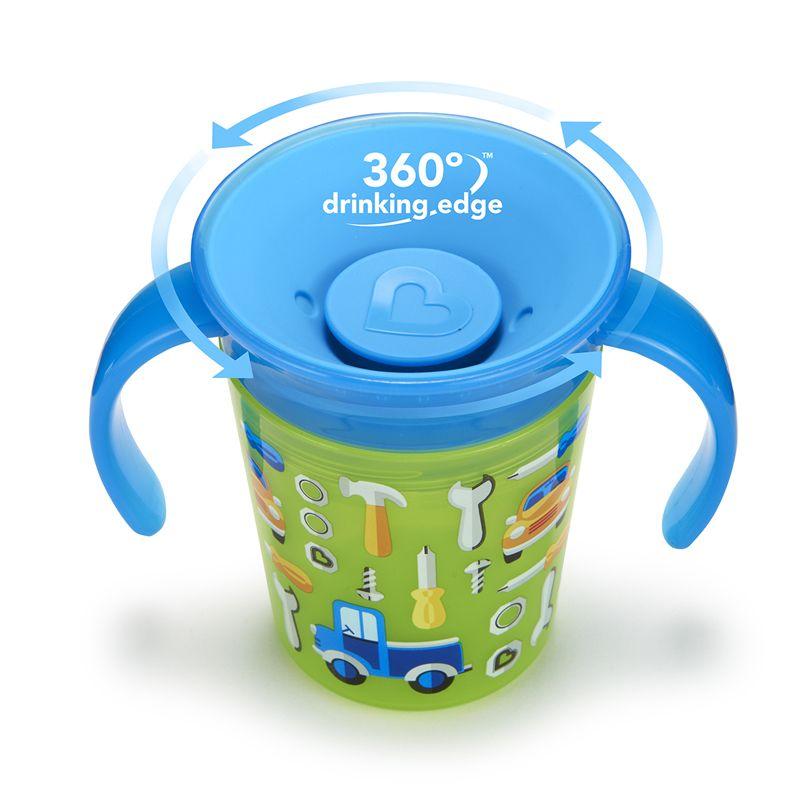 Image of   Drikketræner fra Munchkin - Spildfri - Miracle 360Trainer Cup - Tools