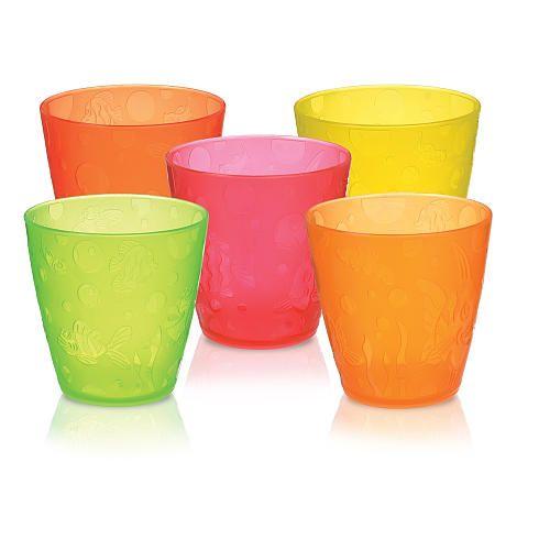 Image of   Drikkebægre fra Munchkin - Toddler Cups - 18m+ (5 stk)