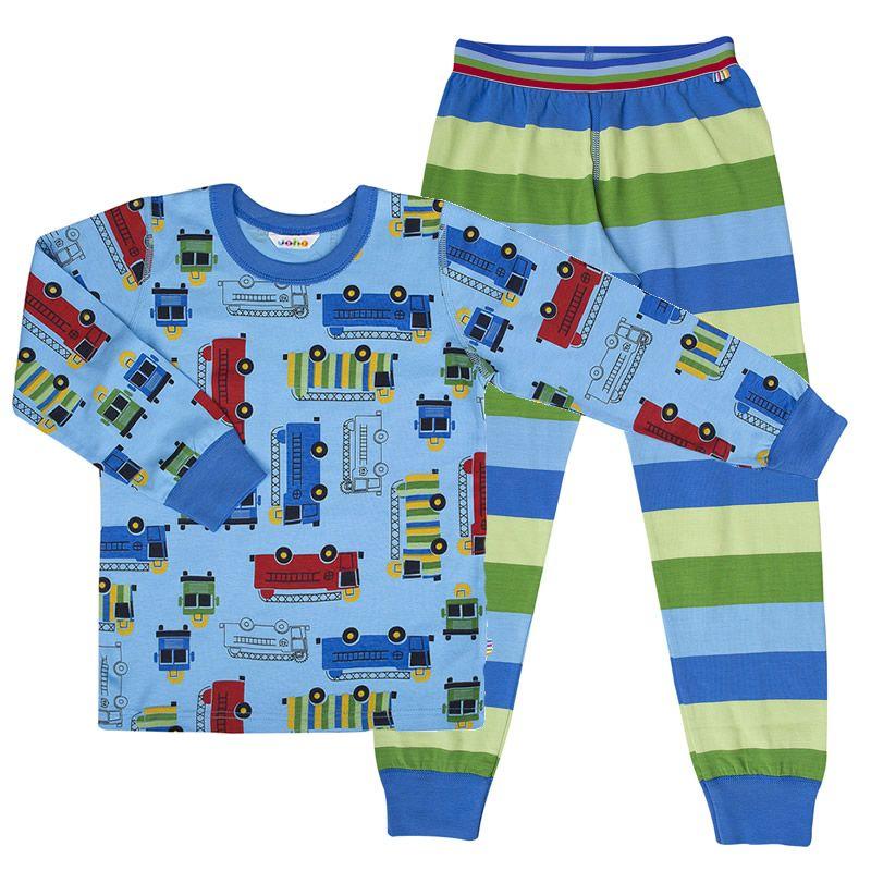 Image of   Pyjamas fra Joha - Biler