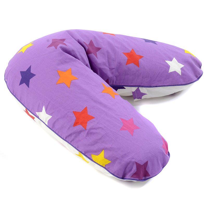 Image of   Ammepude fra Smallstuff - Ergonomisk - Lavender Multi Star