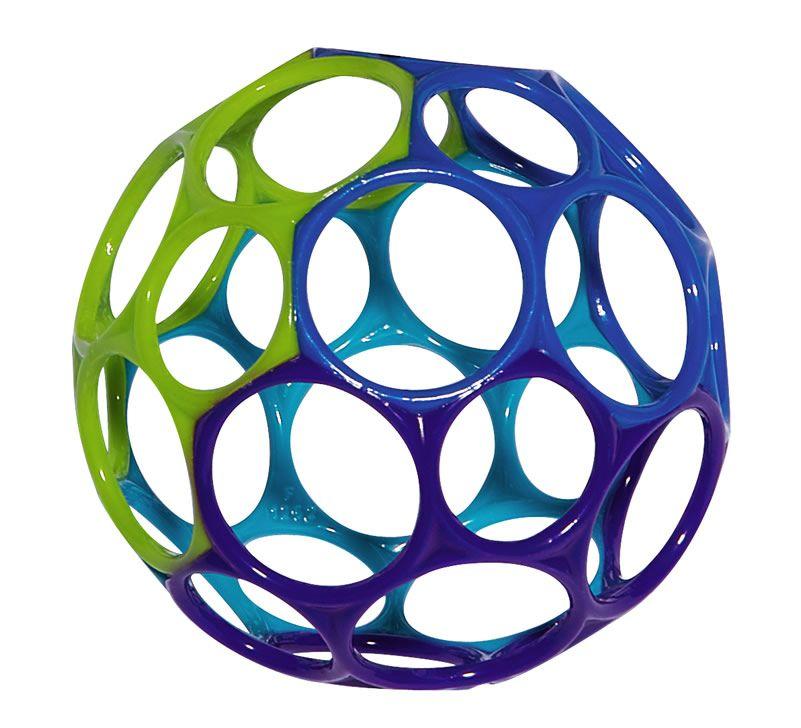 Image of Motorikbold fra Oball - Dreng (10 cm) (81024_dreng)