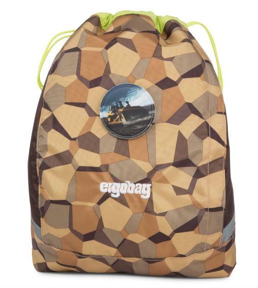 Image of Gym bag til Ergobag Cubo - CaterpillBear (erg-csp-001-9e5)