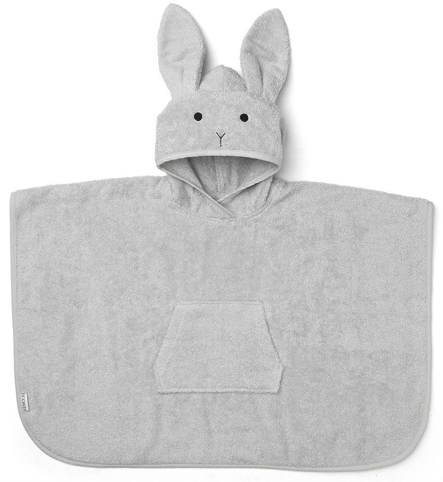 Image of   Badeponcho fra Liewood - Orla - Rabbit Dumbo Grey