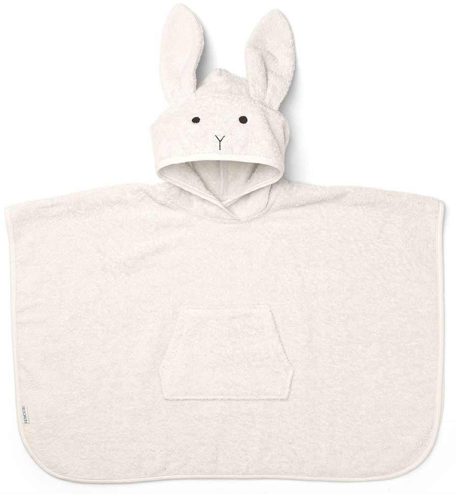 Image of   Badeponcho fra Liewood - Orla - Rabbit Sweet Rose