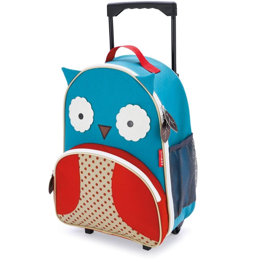 Skip hop Trolley fra skip hop - zoo luggage™ - ugle fra babygear.dk