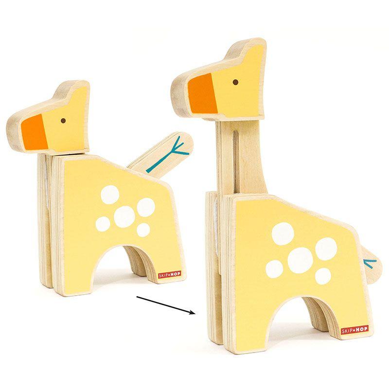 Image of   Peek and Play Giraf fra Skip Hop Giraf Safari
