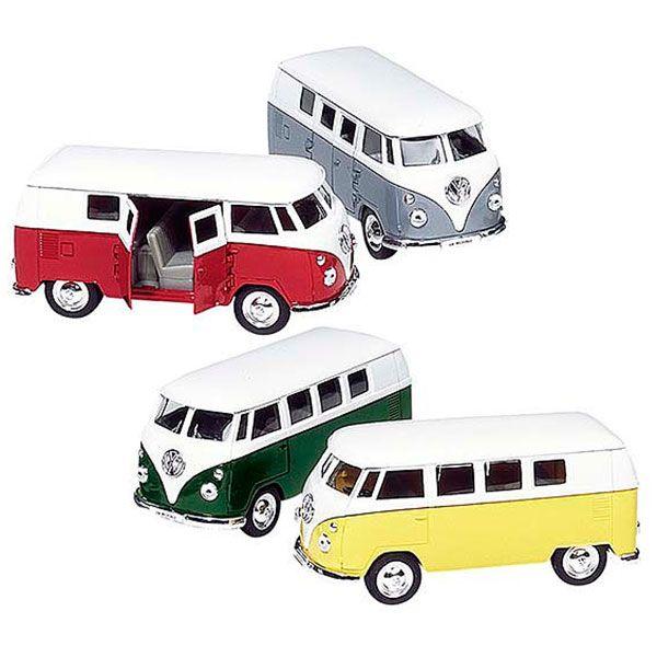 Image of Legetøjsbil fra Goki - VW Classical Bus 1962 (1:37) (PF976)