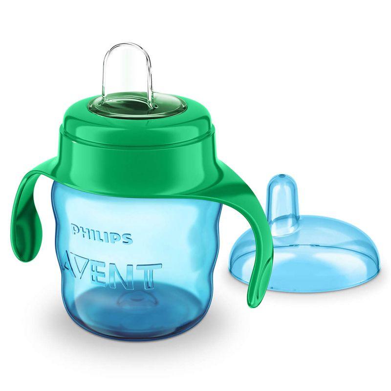 Image of   Drikkekop m. greb fra Philips Avent - Easy Sip (6m+) - Blå og mint