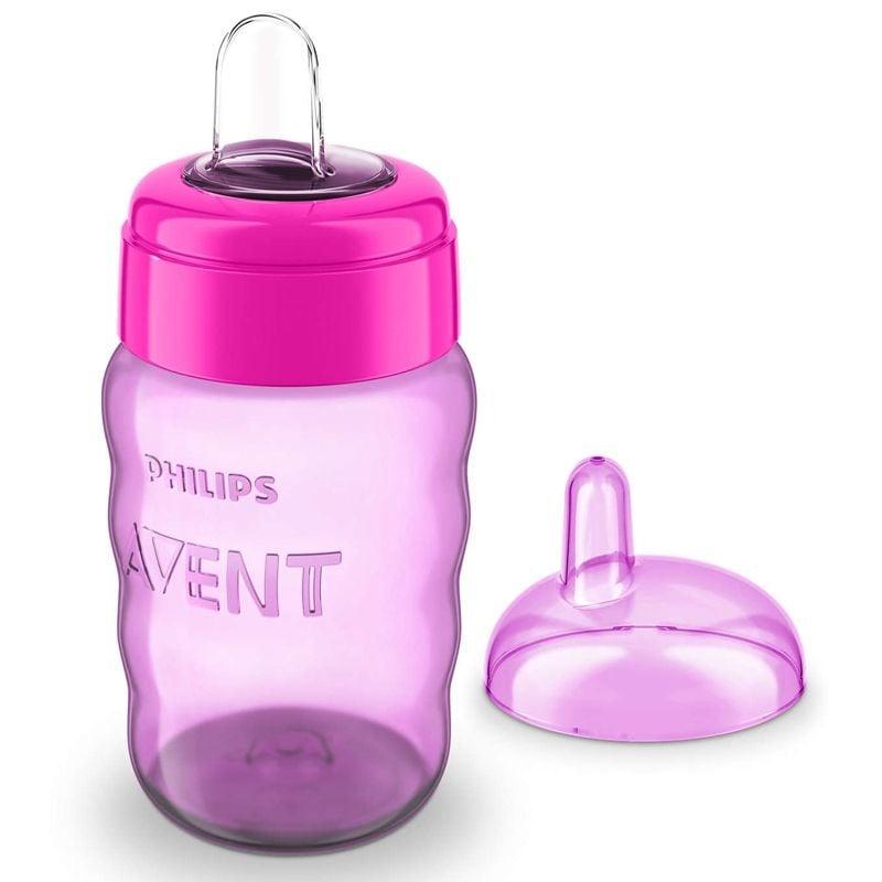 Image of Drikkeflaske fra Philips Avent - Easy Sip (9m+) - Pink (AVT-FED40_PINK)