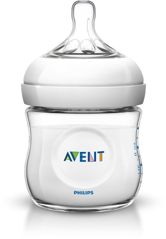Image of Sutteflaske fra Philips AVENT - PP - Natural - 0m+ (125ml) (AVT-FED26)