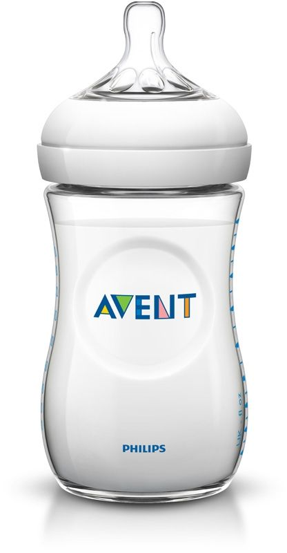 Image of Sutteflaske fra Philips AVENT - PP - Natural - 1m+ (260ml) (1 stk) (AVT-FED27)