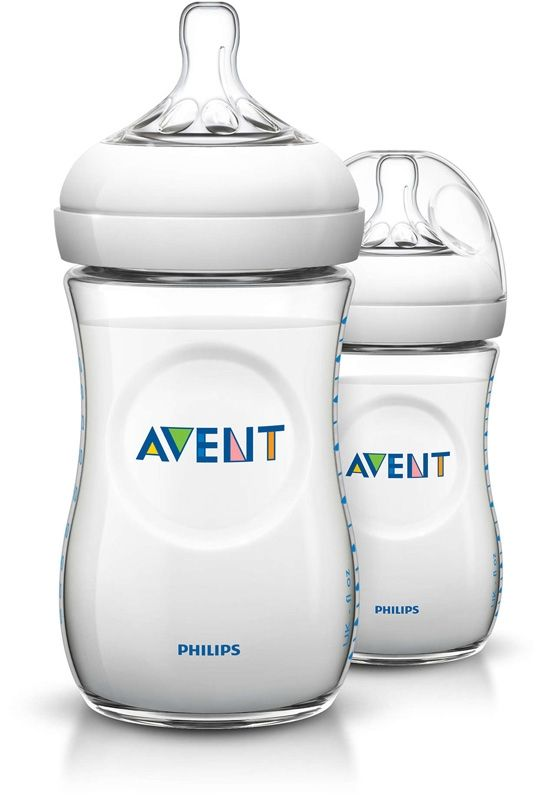 Image of Sutteflaske fra Philips AVENT - PP - Natural - 1m+ (260ml) (2 stk) (AVT-FED29)