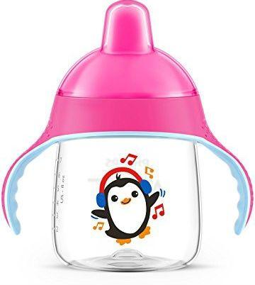 Billede af Drikkekop fra Philips Avent - Premium - Bite-resistant, No-drip (12m+) - Pink