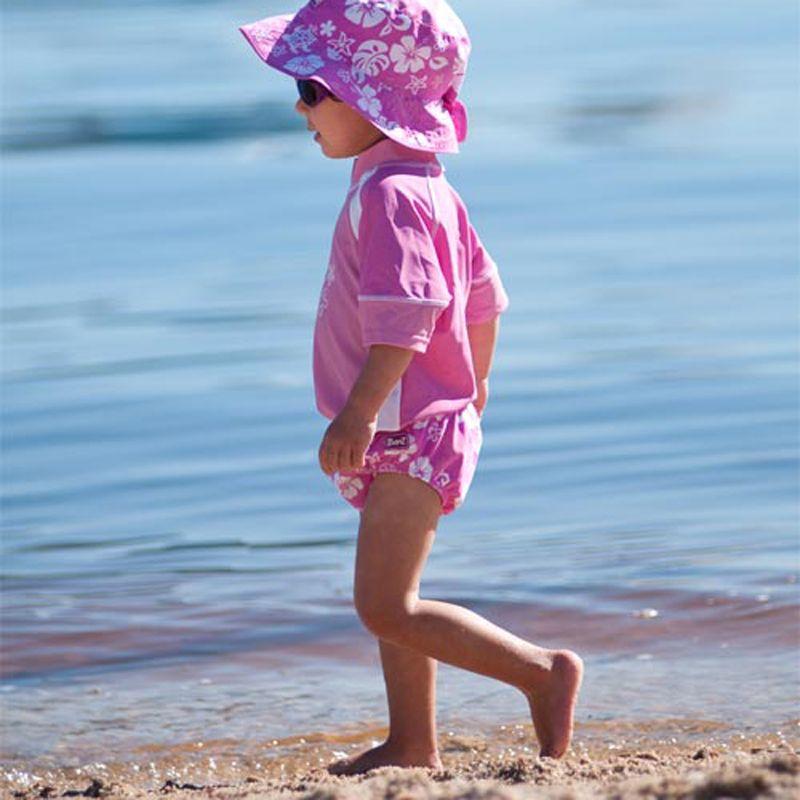 Image of   Baby badebukser fra Baby Banz - Pink Havskildpadde