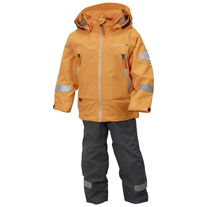 Image of Overgangssæt fra Didriksons - All-weather - Pirin - Tangerine (500013-353_)
