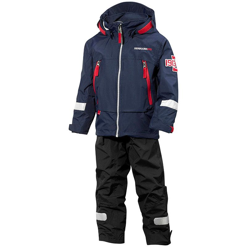Image of Overgangssæt fra Didriksons - All-weather - Pirin - Navy (500013-039-)