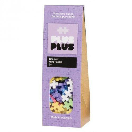 Image of Plus Plus brikker - MINI - Pastel (100) (5710409100021)