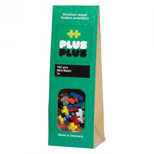 Image of Plus Plus brikker - MINI - Basic (100) (5710409100007)