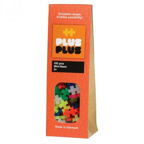 Image of Plus Plus brikker - MINI - Neon (100) (5710409100014)